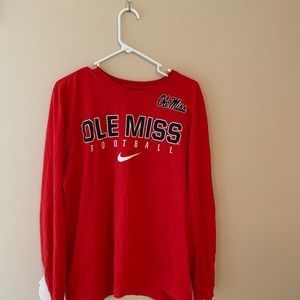 Ole Miss Football Tee